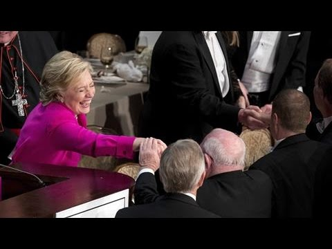 Al Smith Gala: Clinton On Her Sense Of Humor