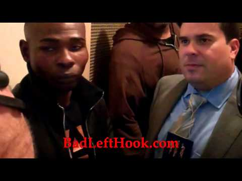2013-12-07 Guillermo Rigondeaux Post-Fight Interview