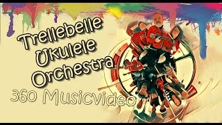 #360 video Trellebelle Ukulele Orchestra from Sweden, Trelleborg.