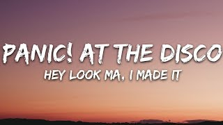 Download Panic At The Disco  Hey Look Ma I Made It Lyrics MP3