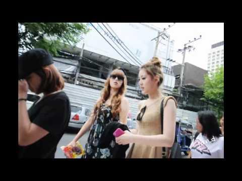 110717 Rania in Thailand @ Siam Square