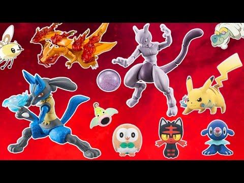 Pokémon Merch Week: First Sun & Moon Plushies, Pokken Figures, New PKMN Center