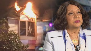 Woman Whose Astronaut Husband Died Escapes House Fire