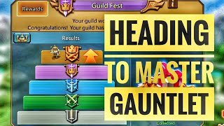 Lords Mobile - Going to Masters Gauntlet and Guild fest rewards.