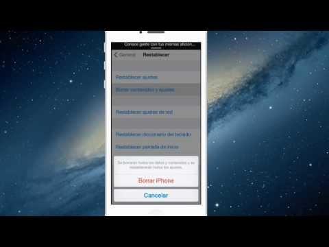 Como restaurar sin actualizar a iOS 7