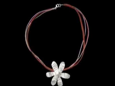 ΧΕΙΡΟΠΟΙΗΤΑ ΚΟΣΜΗΜΑΤΑ ( HANDMADE SILVER 925 JEWELRY NECKLACE) Music Videos