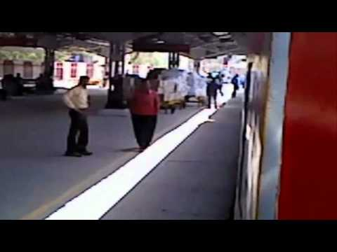 Wap-4 Fastest Raj In Section 12424 Dbrt Rajdhani Express video