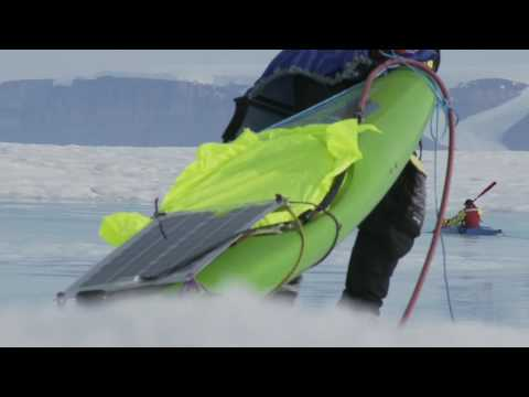 Eric Philips video blog from the Arctic - Kayak (Part 3)