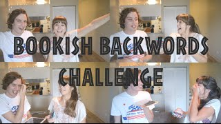 BOOKISH BACKWORDS CHALLENGE