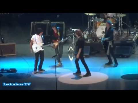 ROLLING STONES SATISFACTION, GOING DOWN, LOS STONES Y JEFF BECK, LONDRES 2012, CONCIERTO COMPLETO