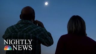 Eclipse Enthusiasts Celebrate In Madras, Oregon | NBC Nightly News