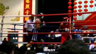 Ibrahim's first amateur fight ( segment)