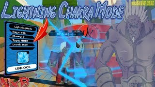 [GIVEAWAY] NRPG Beyond Lightning Chakra Mode Showcase