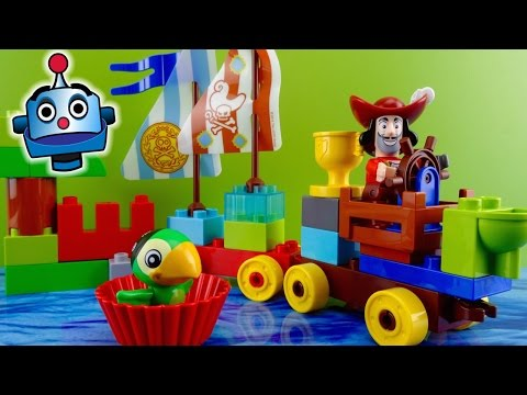 Jake and the Neverland Pirates LEGO Beach Racing