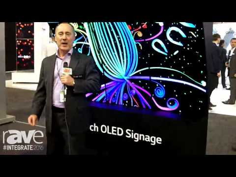 Integrate 2016: LG Showases OLED Wave Curved Display