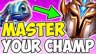 How To Master A Champion And Climb Faster In League Of Legends Season 9