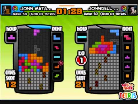 Facebook Tetris Battle Montage