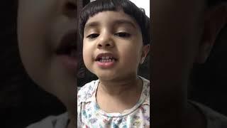 Malayalam baby selfie song, Baby singing Malayalam melody song
