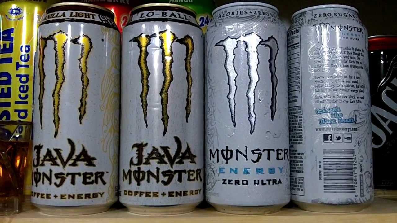 Monster Ultra Black Energy Drink Nutrition