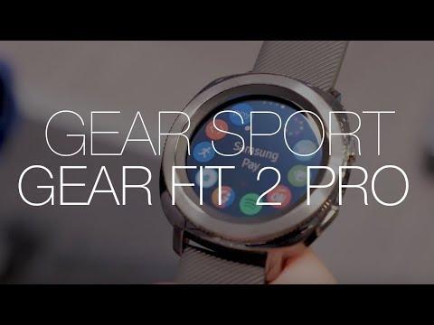 Samsung Gear Sport i Gear Fit 2 Pro, czyli nowy smartwatch i nowa opaska