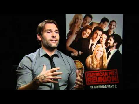 Seann William Scott talks American Pie Reunion, Movie 43 & his Award from Trinity College