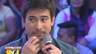 Vice Ganda sings Di Kita Iiwan with Sam Milby
