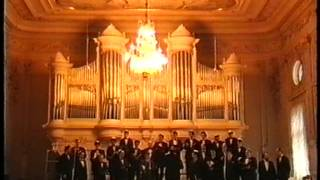 The Moscow Male Jewish Cappella Conductor A Tsaliuk Concert In St Petersburg Part 1 1995