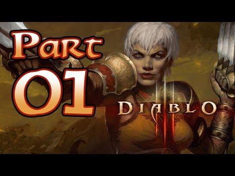 Diablo 3 III Gameplay – Monk Class Pt 1