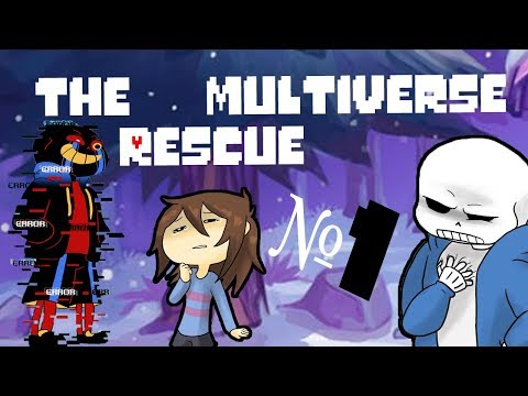 Comics - The Multiverse Rescue | Undertale Глава 1 часть 1 (Озвученный Комикс)