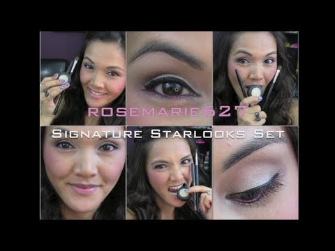 ROSEMARIE627 SIGNATURE STARLOOKS SET NOW AVAILABLE & How To Apply My Favorite Eye Products