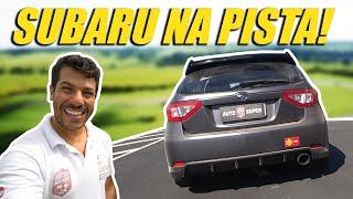 SUBARU IMPREZA NO TRACKDAY FAZENDA CAPUAVA DA CRAZY FOR AUTO (ft. FlatOut!)
