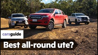 Toyota HiLux vs Ford Ranger vs Mitsubishi Triton 2019 review