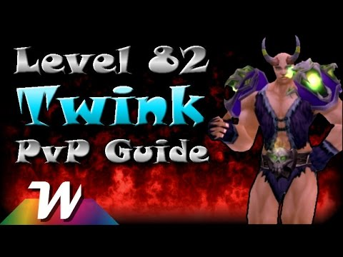 Level 82 Twink Guide (all Classes) | Mop 5.4.8 video