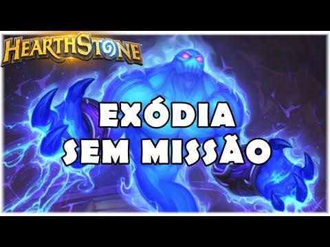HEARTHSTONE - EXÓDIA SEM MISSÃO! (STANDARD EXODIA MAGE)