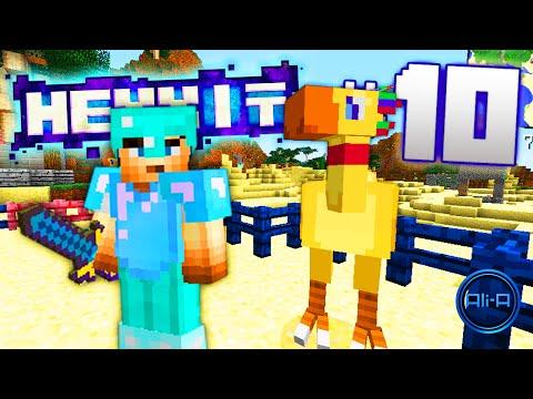 Minecraft Mods Hexxit Ep 10 CHOCOBO BREEDING w Ali A Vikk