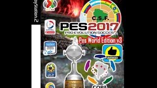 PES 2017 PS2 - PES World Edition 2017 V3 Latino DOWNLOAD ISO