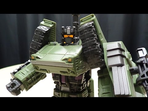 Warbotron HEAVY NOISY (Brawl): EmGo's Transformers Reviews N' Stuff