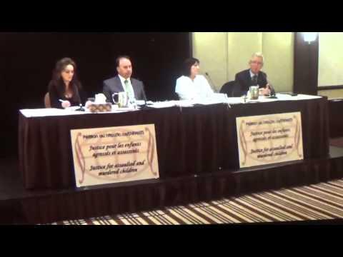 Conférence de presse / Justice pour nos enfants