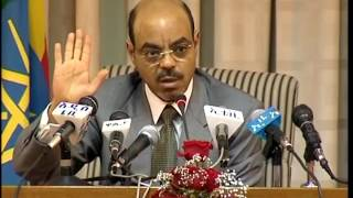 MUST WATCH! Late Prime Minister Melese Zenawi on Ethiopian Hydro-Electric Dam Projects (Gibe I, II,
