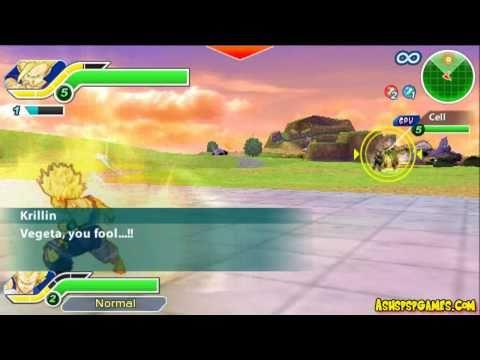 Dbzttt - Psp - #23-0. Gohan Explodes - Defeat Cell [1 2] video