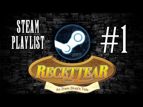 Steam Playlist - Recettear: An Item Shop's Tale P1 (Days 1-3)
