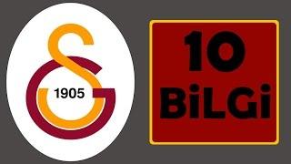 Galatasaray Tarihinden 10 İlginç Bilgi