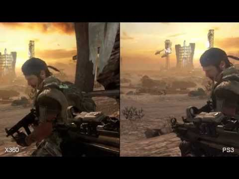 Call of Duty: Black Ops  PS3 vs. 360 Comparison [HD]