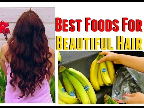 What foods to Eat to make your hair grow faster healthier stronger and thicker
