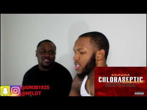 Eminem - Chloraseptic (Remix) ft. 2 Chainz & Phresher - REACTION