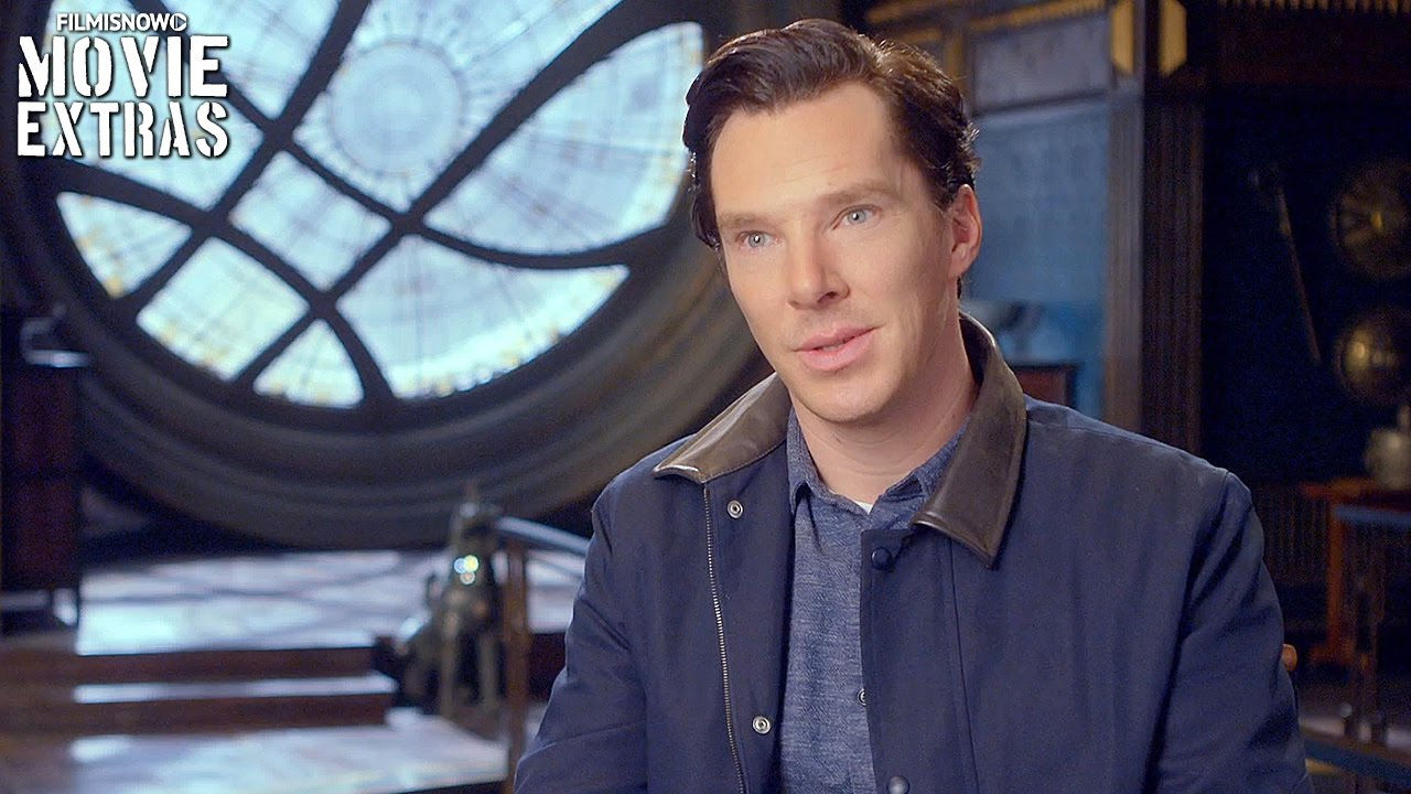 Doctor Strange | On-set visit with Benedict Cumberbatch 'Dr. Stephen Strange'