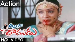 Allari Ramudu Movie Scenes | Arthi Agarwal Attempt Suicide Scene