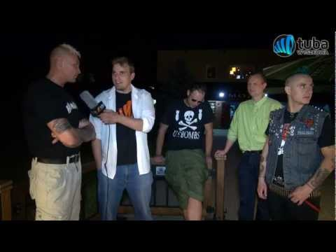"""Koncert Punk Rockowy -- Wyszków 2012 -- cz1 """"MAUSER"""