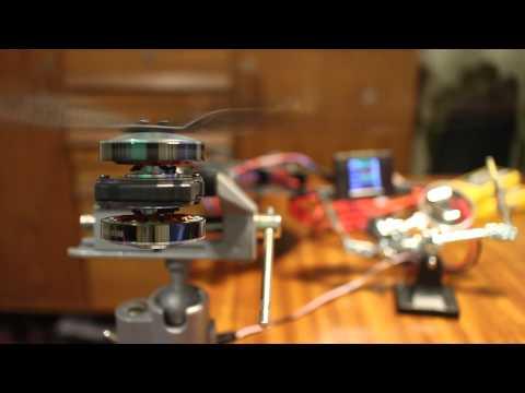 RCTimer NFS 45A ESC + 5010 360kv motor test