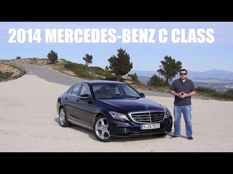 (ENG) 2014 Mercedes-Benz C-CLASS - First Drive. Test Drive. Review